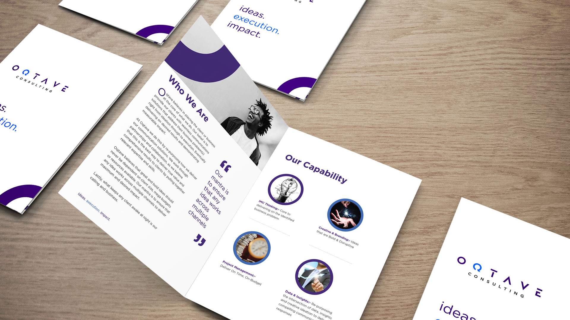 Oqtave Consulting Deigned by Jabari Creative Studios