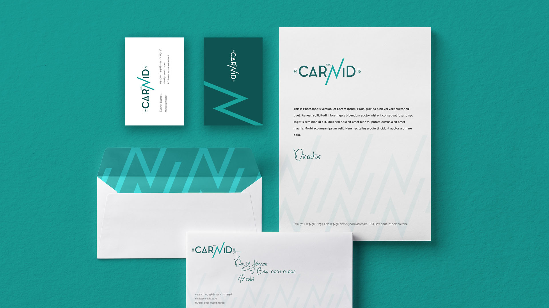 aravid-Envelop e Deigned by Jabari Creative Studios