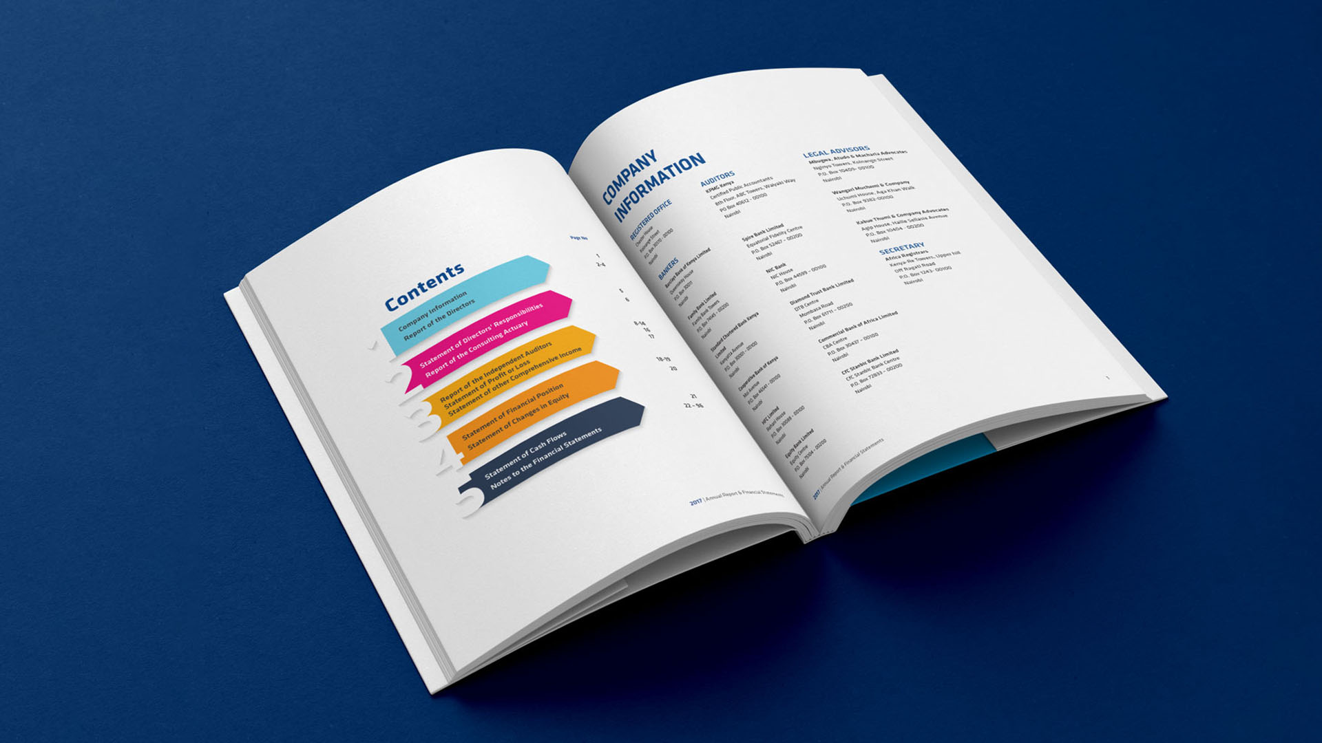 Kenyan Alliance Annual Report Design