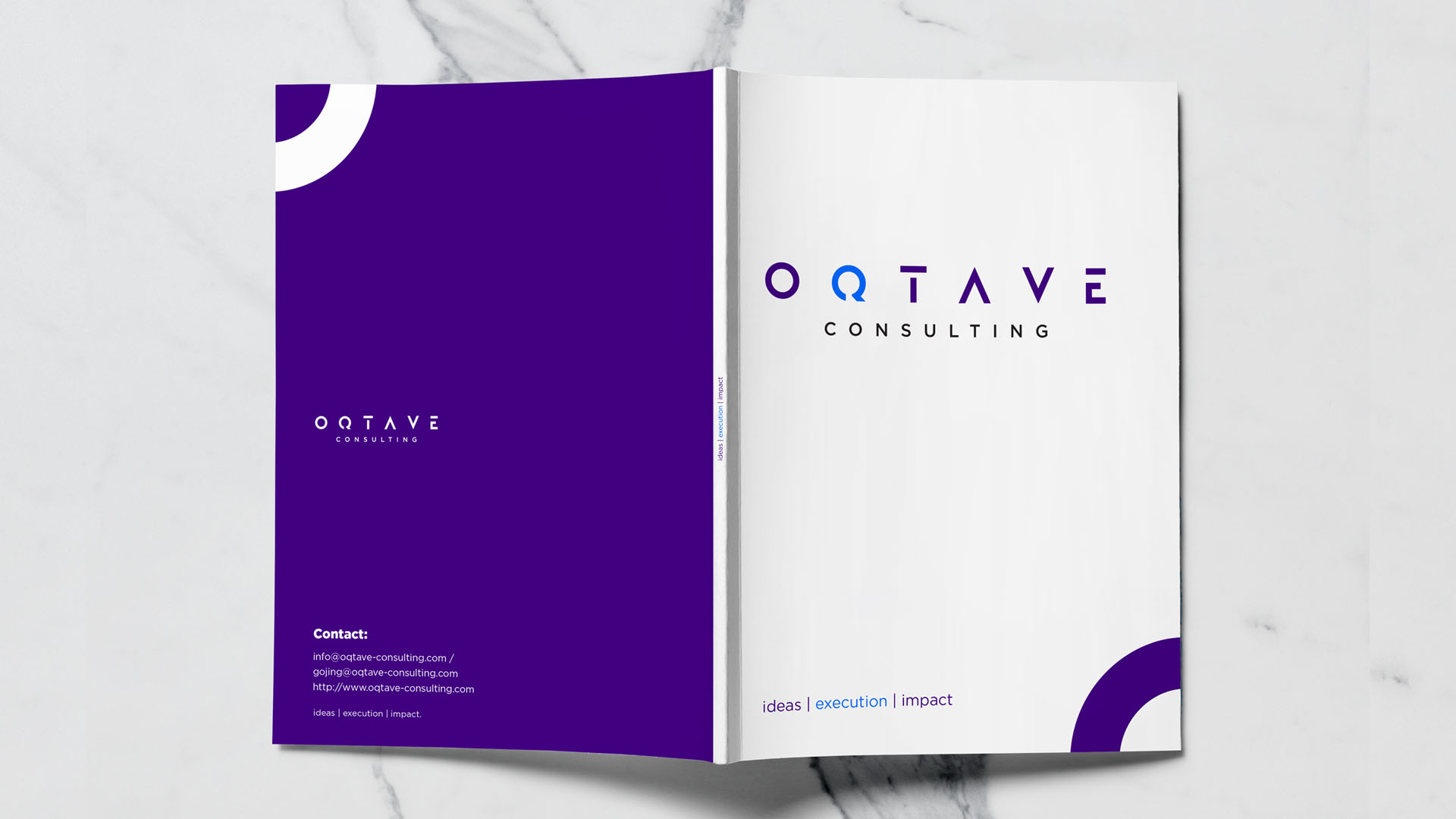 Oqtave Consulting Profile Deigned by Jabari Creative Studios